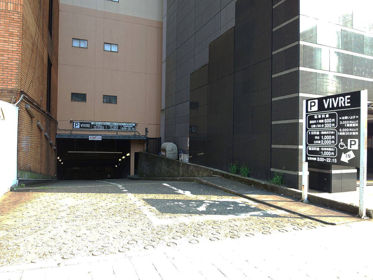 B1F駐車場